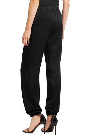 LANVIN Satin track pants