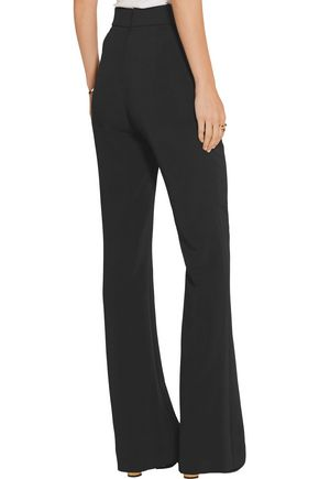 CUSHNIE ET OCHS Stretch-cady flared pants