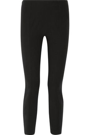 THE ROW Cosso stretch-wool twill skinny pants