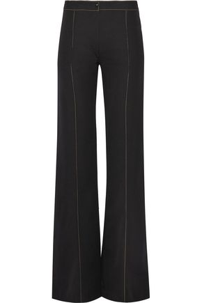 LEMAIRE Wool-gabardine flared pants