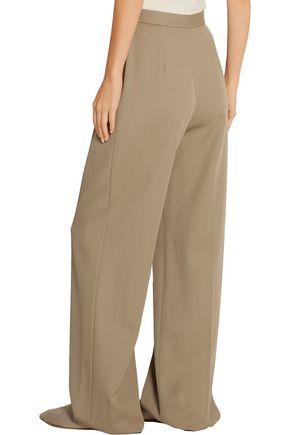 THE ROW Mailan wool-gabardine wide-leg pants