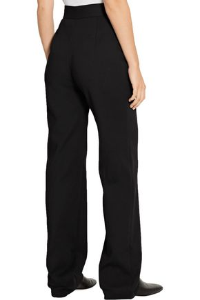 THE ROW Osborne stretch-crepe straight-leg pants