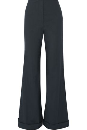 THE ROW Winona stretch-wool wide-leg pants