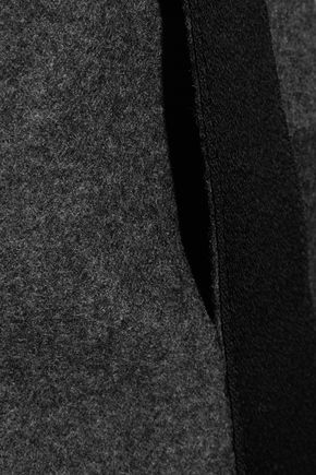 JASON WU Wool and cashmere-blend wide-leg pants