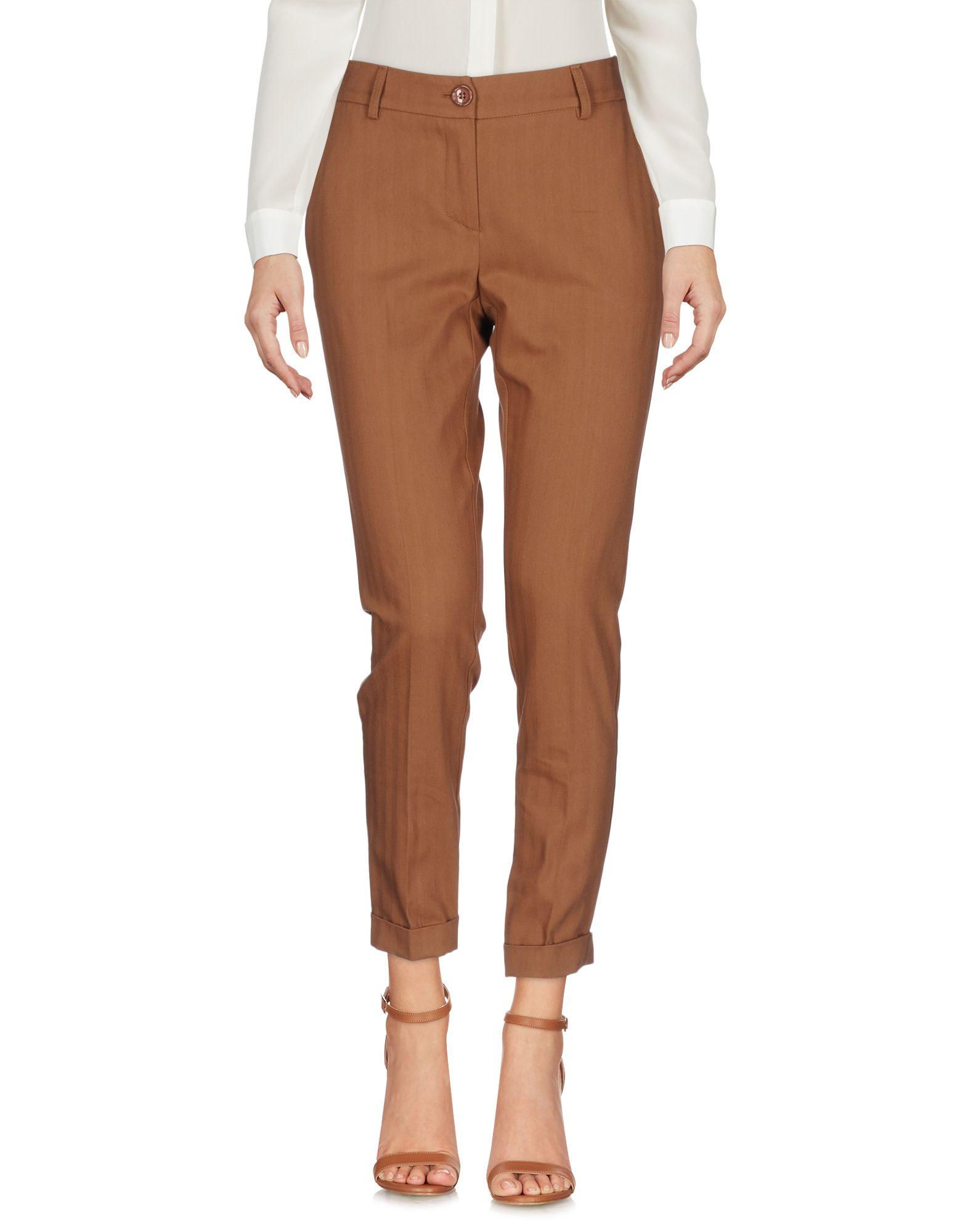 PAOLO CASALINI Повседневные брюки брюки paolo casalini цвет чёрный