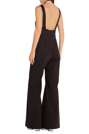 ROSIE ASSOULIN Cotton-blend twill jumpsuit