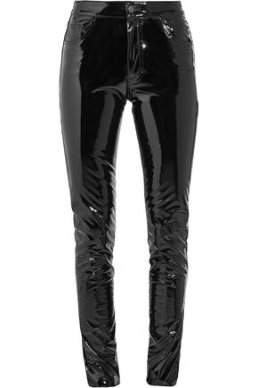 ANTHONY VACCARELLO Vinyl skinny pants