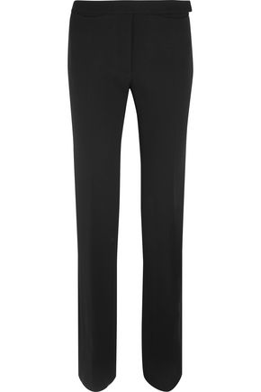 PROTAGONIST Lean wool-blend crepe flared pants