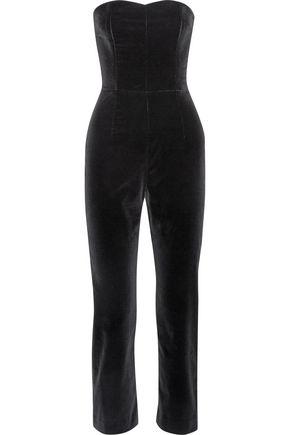 ISA ARFEN Velvet jumpsuit