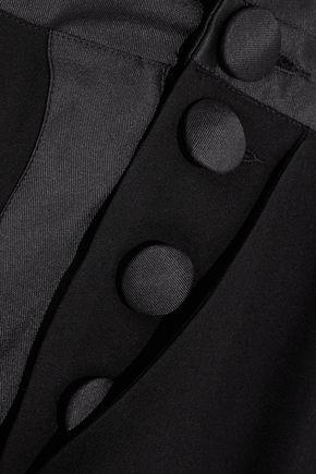 RONALD VAN DER KEMP Smoking silk-blend jumpsuit