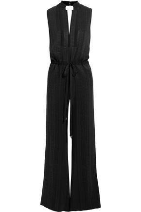 ZEUS + DIONE Amazons silk-blend jacquard jumpsuit