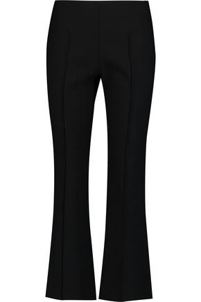 ELIZABETH AND JAMES Roberta cropped crepe slim-leg pants