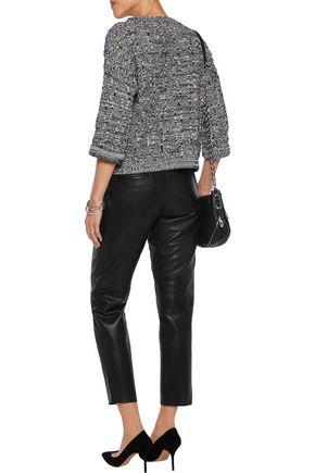RAG & BONE Leather straight-leg pants