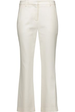 ADAM LIPPES Stretch-gabardine flared pants