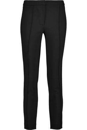 ADAM LIPPES Wool-blend crepe skinny pants