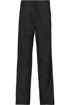 RAG & BONE Alison wool-blend twill wide-leg pants