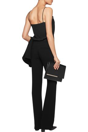JOSEPH Rock crepe straight-leg pants