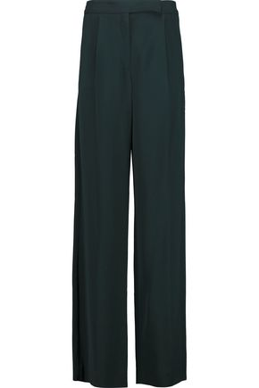 AMANDA WAKELEY Oraibi crepe straight-leg pants