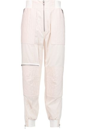 3.1 PHILLIP LIM Paneled cotton tapered pants