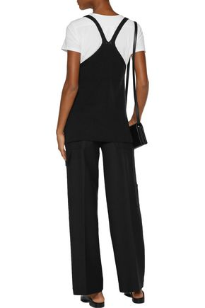 HELMUT LANG Cotton-blend straight-leg pants