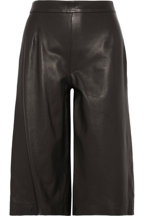 IRIS & INK Leather culottes