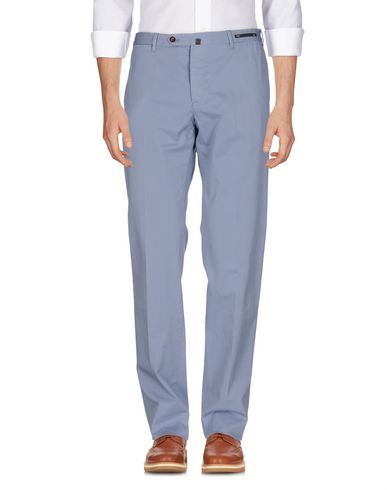 Фото - Повседневные брюки от PT01 пастельно-синего цвета
