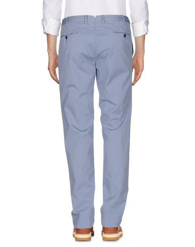 Фото 2 - Повседневные брюки от PT01 пастельно-синего цвета