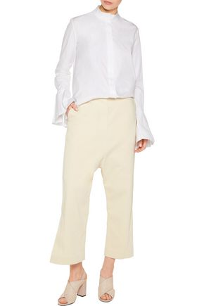 ELLERY Yoko cotton-blend jacquard pants