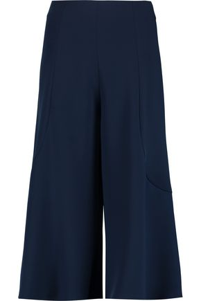 IRIS AND INK Bell stretch-cady culottes
