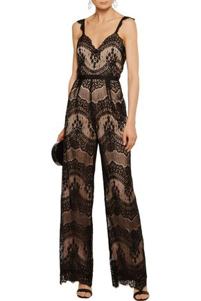 CATHERINE DEANE Kelly lace jumpsuit