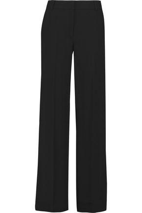 T by ALEXANDER WANG Crepe wide-leg pants