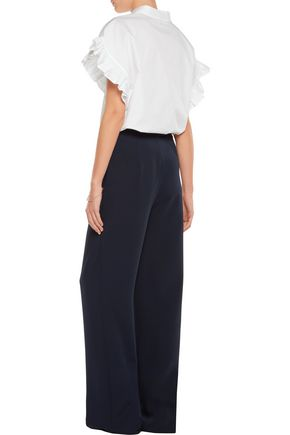 IRIS AND INK Crepe wide-leg pants