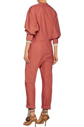 ISABEL MARANT Nuk cotton-poplin jumpsuit