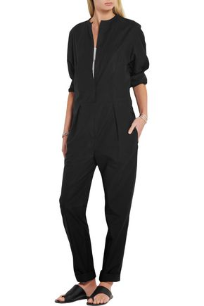 ISABEL MARANT Nuk cotton-poplin jumpsuit