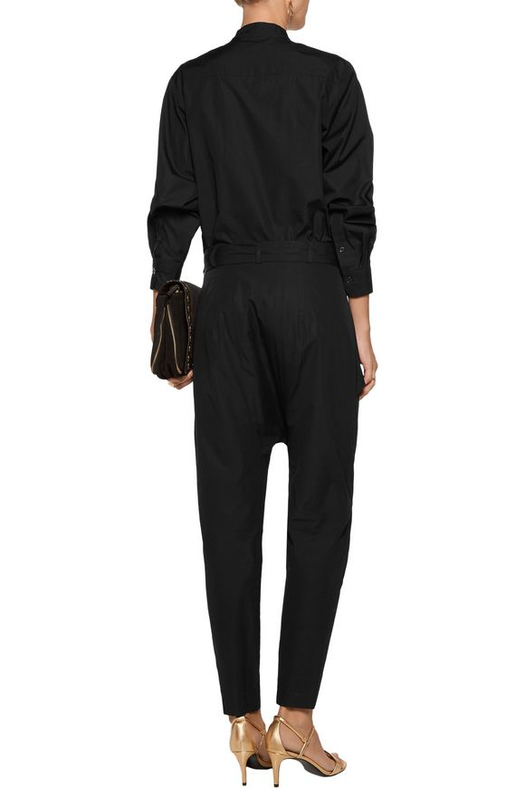 Meery wrap-effect cotton jumpsuit | ISABEL MARANT | Sale up to 70% off |  THE OUTNET