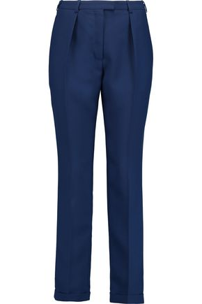 CARVEN Pleated crepe tapered pants