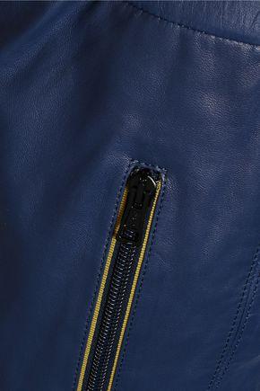ISABEL MARANT Colin leather straight-leg pants