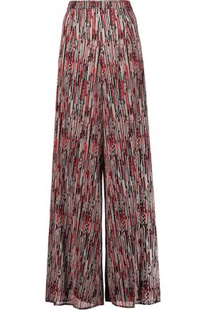 ALICE + OLIVIA Athena woven wide-leg pants