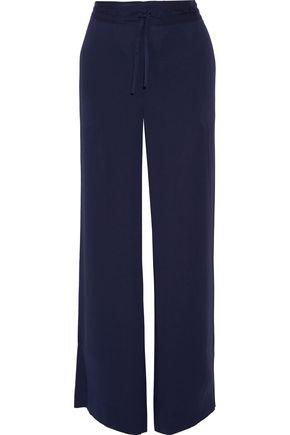 DIANE VON FURSTENBERG Davin stretch-silk wide-leg pants