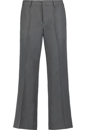 RAOUL Fit 'n Kick cropped crepe bootcut pants