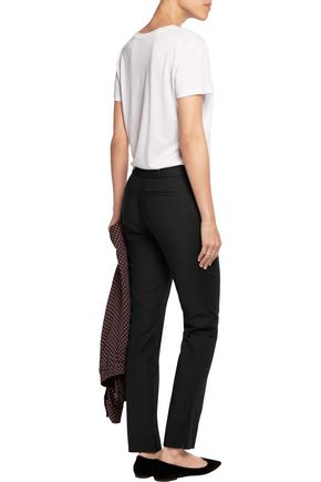 RAOUL Stretch-ponte skinny pants