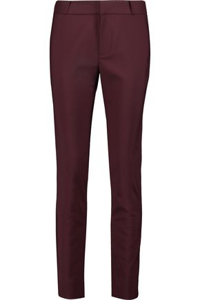 RAOUL Cotton-blend straight-leg pants