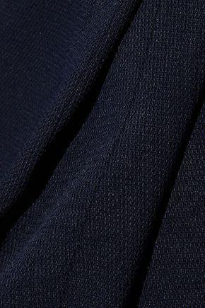 DEREK LAM 10 CROSBY Pleated crepe tapered pants