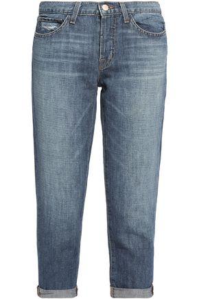 J BRAND Sadey mid-rise cropped straight-leg jeans