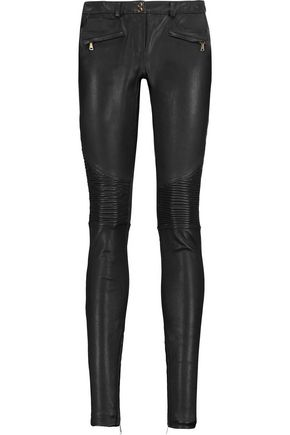 REBECCA VALLANCE Leather skinny pants