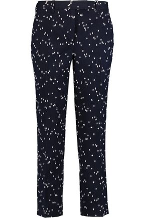 3.1 PHILLIP LIM Cotton-blend bouclé slim-leg pants