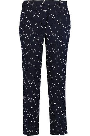 3.1 PHILLIP LIM Cotton-blend bouclé slim-leg pants