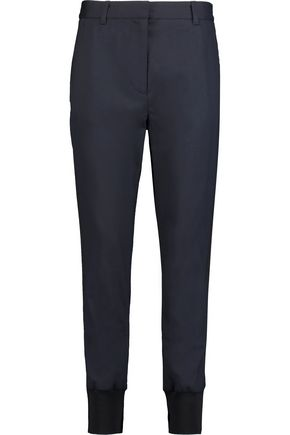 3.1 PHILLIP LIM Paneled wool-blend twill tapered pants