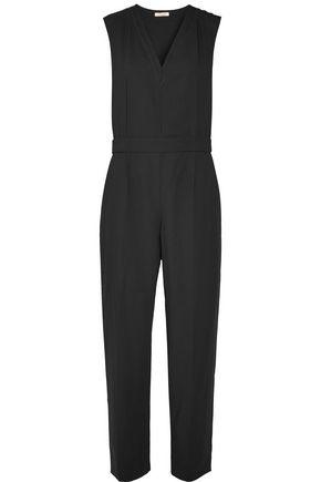 NINA RICCI Wool-twill jumpsuit