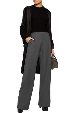 OPENING CEREMONY Focal stretch-knit wide-leg pants